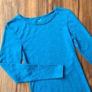 Garnet Hill Slub Cotton Long Sleeve Shirt